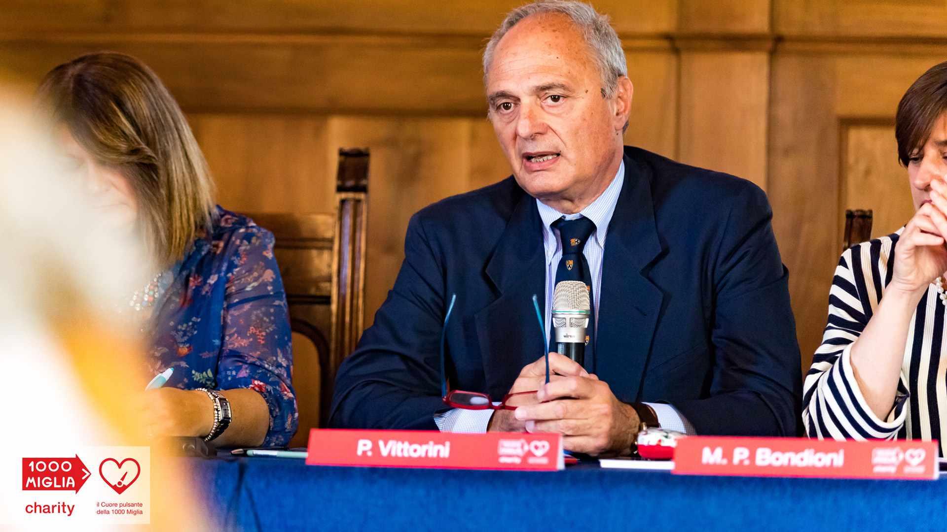 1000 Miglia Charity - Piergiorgio Vittorini - Presidente AC Brescia