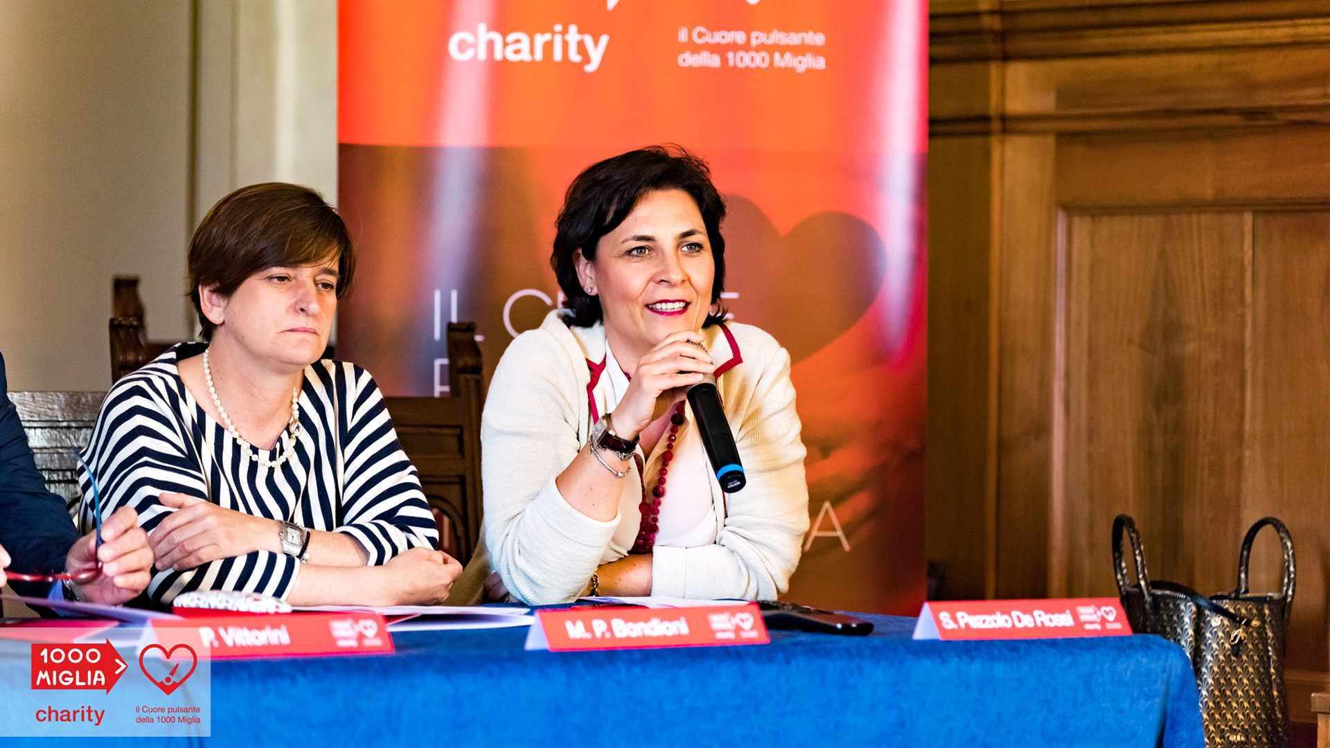 1000 Miglia Charity - Simona Pezzolo De Rossi - Delegata 1000 Miglia Srl