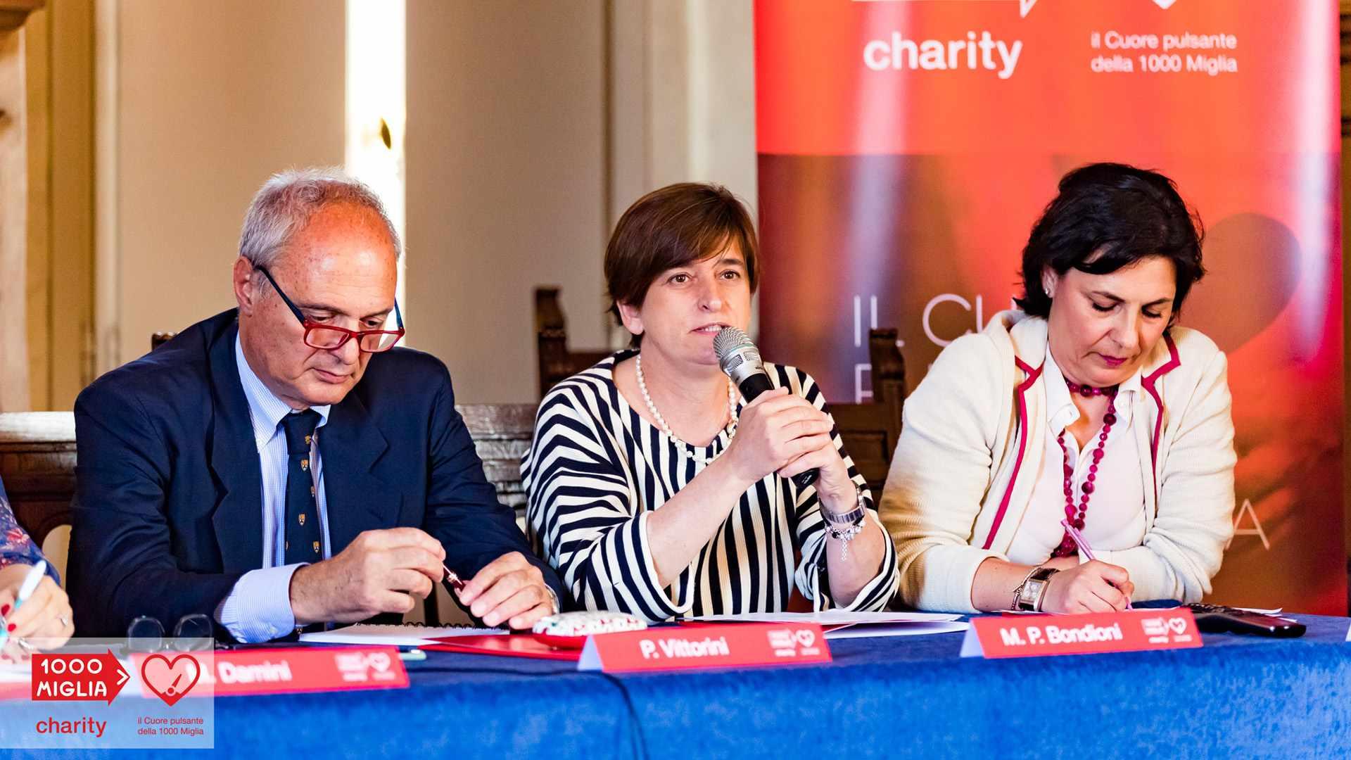 1000 Miglia Charity - Maria Pia Bondioni - Responsabile Radiologia pediatrica Ospedale dei Bambini di Brescia