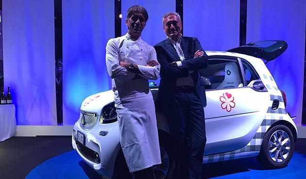 Laureus 2017 - Davide Oldani e Francesco Bonera