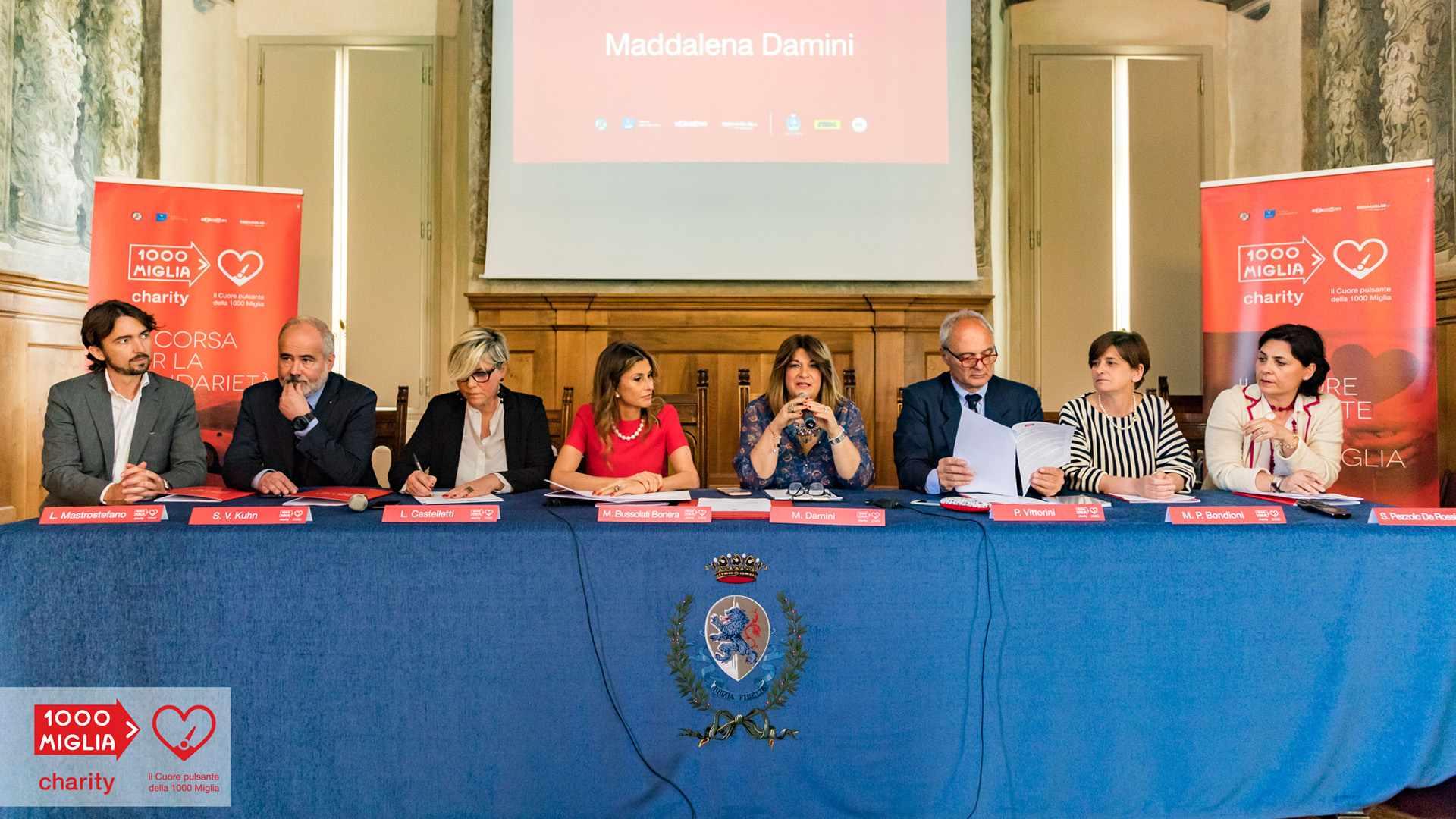 1000 Miglia Charity - Conferenza stampa