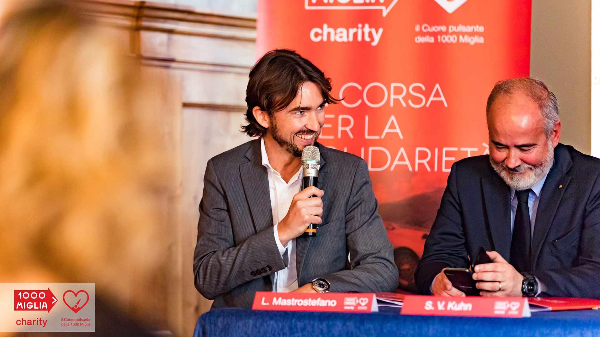 1000 Miglia Charity - Luca Mastrostefano - Gruppo Wise